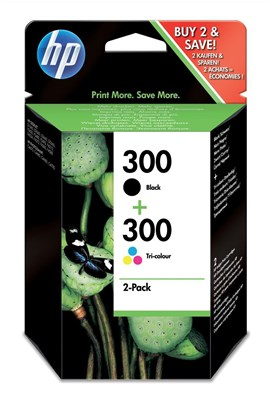 HP 300 - Multi Print cartridge Pack