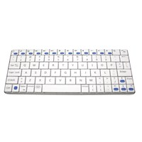 Accuratus Minimus Ultra Sleek Mini Bluetooth Wireless Keyboard (White) for Mac