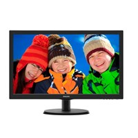 Philips 223V5LSB/00 21.5 inch LED Monitor - Full HD 1080p, 5ms, DVI
