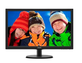 "Philips 223V5LSB/00 21.5"" Full HD LED Monitor"