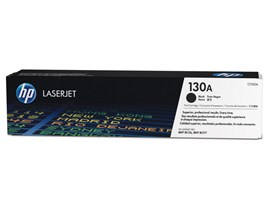 HP 130A (Yield: 1,300 Pages) Black Toner Cartridge