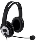 Microsoft LifeChat LX-3000 Digital USB Stereo Headset (Black)
