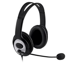 Microsoft LifeChat LX-3000 Digital USB Stereo Headset (Black) *Open Box*
