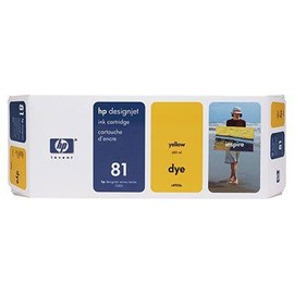 HP 81 Yellow Ink Cartridge (680ml) for the 5000 and 5000PS