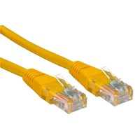 CCL Choice 0.5m CAT5E Patch Cable (Yellow)