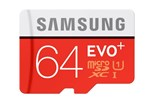 Samsung EVO+ MB-MC64DA (64GB) MicroSDXC UHS-I Memory Card with SD Adapter