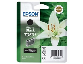 Epson T0591 Photo Black Ink Cartridge