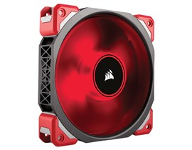 Corsair ML Series ML120 Pro Magnetic Levitation Fan (120mm) with Red LED *Open Box*