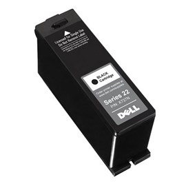 Dell High Capacity Black Ink Cartridge (Yield: 360 Pages)