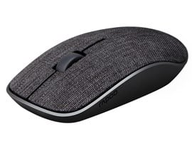 Rapoo 3510+ Wireless Optical Mouse Fabric 2.4GHz (Black)