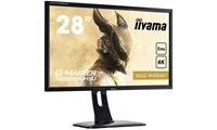 iiyama GOLD PHOENIX G-MASTER (28 inch) LED Backlit LCD Monitor 1000:1 300cd/m2 (3840x2160) 1ms VGA/HDMI/MHL/DisplayPort/USB (Black) *Open Box*