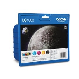 Brother LC1000 Value Pack Multipack Ink Cartridges