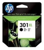 HP 301XL (Yield 480 Pages) Black Ink Cartridge for Deskjet 1000/Deskjet 1050A/Deskjet 3000/Deskjet 3050A Printers