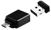 Verbatim Store n Go Nano OTG Adapter 16GB Black