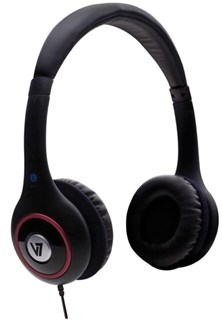 V7 HA510 Deluxe Headphones with Volume Control