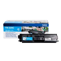 Brother TN-329C (Yield: 6,000 Pages) Cyan Toner Cartridge