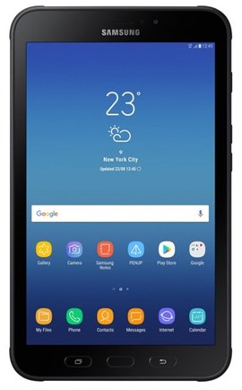 Samsung Galaxy Tab Active2 SM-T395 (8 inch) Tablet Octa-Core 1.6GHz 1.5GB 16GB 4G WLAN BT NFC GPS Camera Android 7.1 (Black)