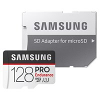 Samsung PRO Endurance MB-MJ128GA (128GB) SDXC UHS-I Memory Card with SD Adaptor