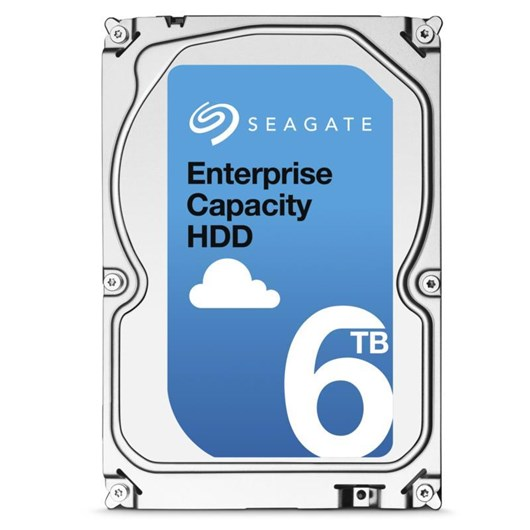 Seagate Enterprise Capacity (6TB) 3.5 inch Hard Drive (7200rpm) 6Gb/s SATA 256MB (Internal) - 512 Emulation Self-Encrypting Drive (SED) Model