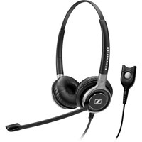 Sennheiser Century SC 660 Dual-Sided Wired Headset with Noise-Cancelling Microphone and Easy Disconnect Cable