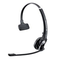 Sennheiser DW 20 USB Wireless Monaural Pro Headset with Base Station, Adjustable Microphone Arm and Ultra Noise Cancelling Microphone