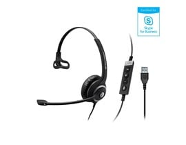 Sennheiser SC 230 USB MS II Single Sided Wired Headset with Noise Cancelling Microphone
