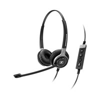 Sennheiser Century SC 660 USB CTRL Dual-Sided Stereo Headset with Built-in Call Control Unit and Noise-Cancelling Microphone