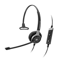Sennheiser Century SC 630 USB ML Monaural UC HS Headset with Noise-Cancelling Microphone for Skype for Business