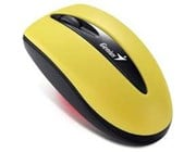 Genius Traveler 7000 2.4GHz Wireless Notebook Optical Mouse (Banana Yellow)