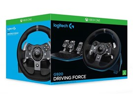 Logitech G920 Driving Force Steering Wheel for Xbox One and PC