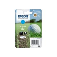 Epson Golf Ball 34 T3462 (Yield 300 pages) DURABrite Ultra Cyan 4.2ml Ink Cartridge