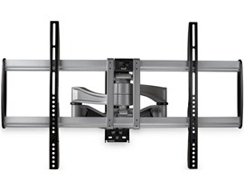 StarTech.com Flat-Screen TV Wall Mount - Full-Motion (Silver/Black) for 32 to 75 inch TVs
