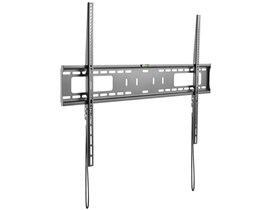 StarTech.com Flat-Screen TV Wall Mount - Fixed (Black) for 60 to 100 inch TVs