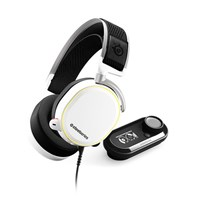 SteelSeries Arctis Pro GameDAC Gaming Headset Certified Hi-Res Audio (White)