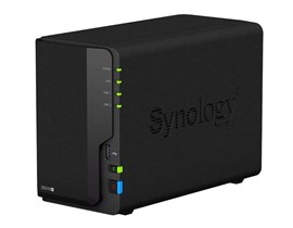 Synology DiskStation DS218+ 2-Bay Desktop NAS Server with 4K Video Transcoding and 8TB (2 x 4TB) Seagate IronWolf Hard Drives