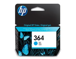 HP 364 (Yield 300 Pages) Cyan Ink Cartridge