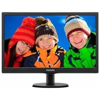 Philips V-Line 19 inch LED Monitor - 1366 x 768, 5ms Response