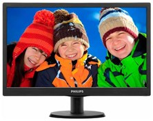 "Philips V-Line 19"" HD LED Monitor"