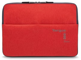 Targus 360 Perimeter Laptop Padded Sleeve (Flame Scarlet) Fits up to 15.6 inch Laptops