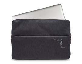 Targus 360 Perimeter Laptop Padded Sleeve (Ebony) Fits up to 13.3 inch Laptops