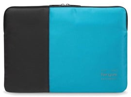 Targus Pulse Laptop Sleeve (Black/Atoll Blue) for 11.6 inch to 13.3 inch Laptop