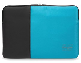 Targus Pulse Laptop Sleeve (Black/Atoll Blue) for 13 inch to 14 inch Laptop