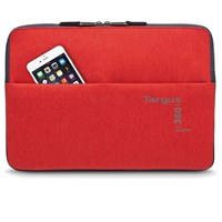 Targus 360 Perimeter Laptop Padded Sleeve (Flame Scarlet) Fits up to 13.3 inch Laptops