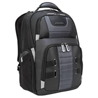 Targus DrifterTrek Backpack (Black) for 11.6-15.6 inch Laptops (with USB Power Pass-Thru)