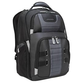 Targus DrifterTrek Backpack (Black) for 15.6-17.3 inch Laptops (with USB Power Pass-Thru)
