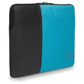 Targus Pulse Laptop Sleeve (Black/Atoll Blue) for 15.6 inch Laptop