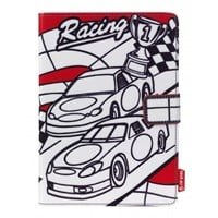Techair Doodle Case (Racing Cars) for Universal Tablets (7 inch)