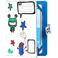 Techair Doodle Case (Little Monster) for 7 inch to 8 inch Universal Tablets