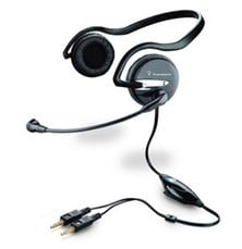 Plantronics .Audio 345 Behind-the-Head Enhanced Multimedia Headset