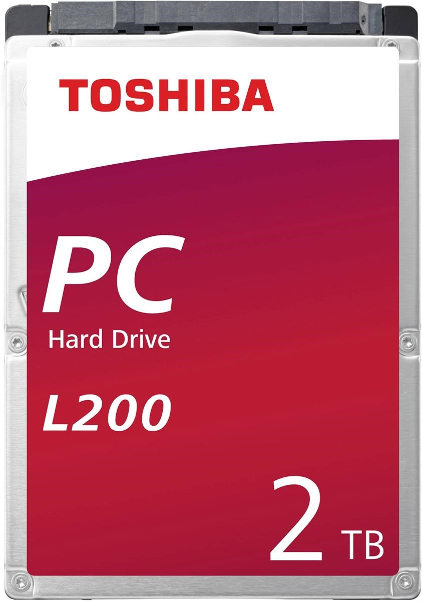 Toshiba L200 (2TB) 5400rpm SATA 3 0Gb/s Mobile Hard Drive (Internal) Bulk